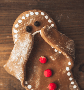 Not so jolly gingerbread man